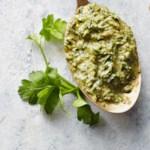 Herb Stems and Celery Leaf Pesto