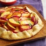 Country-Style Peach-Plum Tart