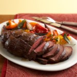 Honey-Ancho-Glazed Beef Tenderloin