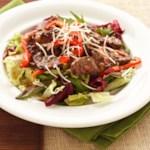 Hot Italian Beef Salad