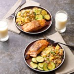 Honey Mustard Salmon with Mango Quinoa