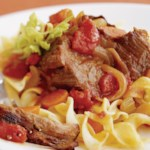 Saucy Pot Roast with Noodles