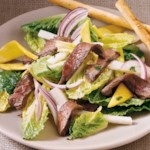 Steak & Mango Salad with Cilantro Dressing