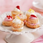 Citrus Angel Tea Cakes