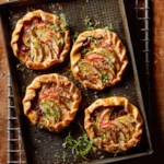 Ham, Gruyère & Apple Galettes