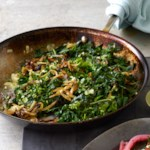 Greens with Crispy Onions (Hendbeh b' Zeit)