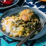 Chicken Stew with Green Herbs & Citrus (Morgh-e Torsh)