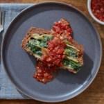 Lasagna-Stuffed Meatloaf