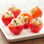 Caprese Stuffed Cherry Tomatoes