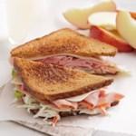 Garden Ham & Swiss Sandwiches