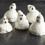 Ghost Meringue Cookies