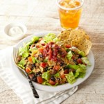Easy Vegetarian Taco Salad