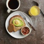 Avocado Egg-in-a-Hole Toasts