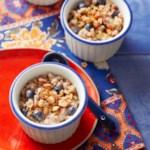 Farro, Almond & Blueberry Breakfast Cereal