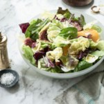 Mixed Greens Salad with Blood Oranges