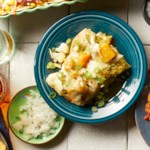 Butternut Squash & Cauliflower Enchiladas