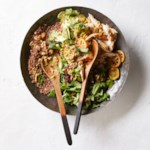 Quinoa, Chicken & Broccoli Salad with Roasted Lemon Dressing