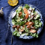 Smoked Sweet Potato & Escarole Salad