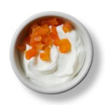 Vanilla Yogurt with Apricots
