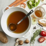 Vegetable Stock with Kitchen Scraps