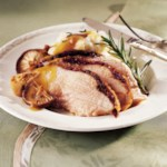 Herbed-Lemon Turkey with Wild Mushroom Gravy
