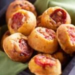 Upside-Down Tomato Cornbread Muffins