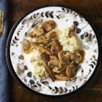 Vegan Cauliflower Steaks with Mushroom Gravy