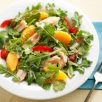 Turkey Salad with Oranges