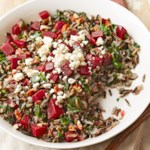 Wild Rice & Roasted Beet Salad