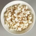 Cinnamon-Sugar Microwave Popcorn
