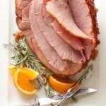 Marmalade-Horseradish-Rosemary Glazed Ham