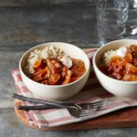 "Pork Paprikash with Cauliflower ""Rice"""
