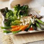 Asparagus & Carrots with Asian Vinaigrette