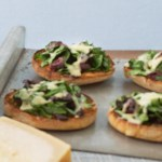 Open-Face Spinach & Olive Melts