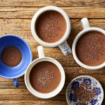 Dark Chocolate-Coconut Hot Cocoa