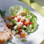 Kohlrabi-Carrot Salad with Dill Vinaigrette