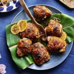 Huli Huli Chicken with Pineapple-Ginger Sauce