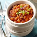 Slow-Cooked Baked Beans with Bacon