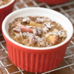 Pecan-Apple Custards