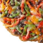 Southwest Black Bean Pizza