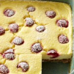 Raspberry-Lemon Cheesecake Bars