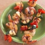 Fiery Southwestern Seafood Skewers