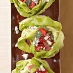 Stuffed Bibb Lettuce with Basil-Buttermilk Dressing