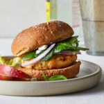 Air-Fryer Greek Turkey Burgers