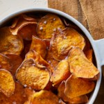 Air-Fryer Sweet Potato Chips