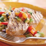 Cuban-Style Swordfish with Fresh Tomato Salsa