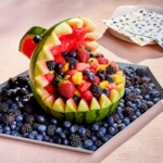 Shark Watermelon Fruit Bowl