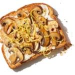 Ricotta & Mushroom Tartine