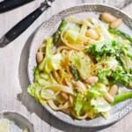 Spring Pasta with Escarole