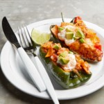 Turkey Enchilada Poblano Peppers